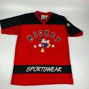 Vintage Mickey Mouse Sportswear Jersey Medium